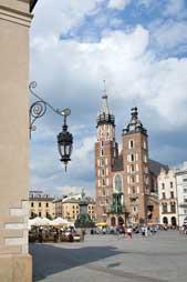 Krakow Old Town Market - trip to Poland