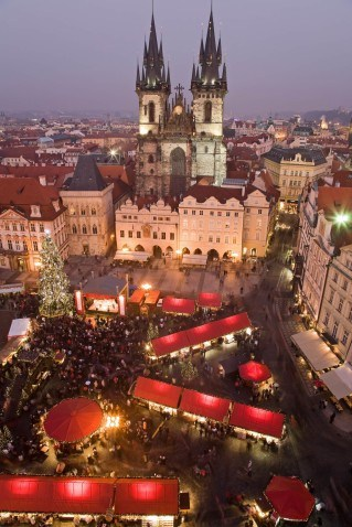 Prague Old Town market
