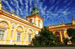 Wilanow Palace and Park in Warsaw - trip to Poland