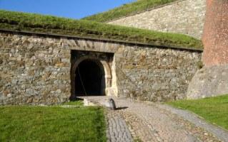 old fort entrance klodzko