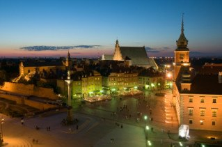 Castle in Warszawa